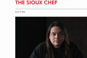 Sioux Chef in Cowboys