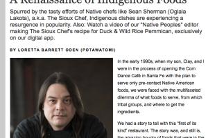A Renaissance of Indigenous Foods by Loretta Barrett Oden